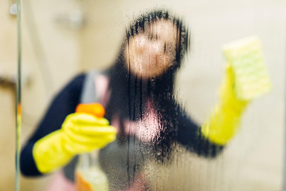 come pulire finestre in pvc