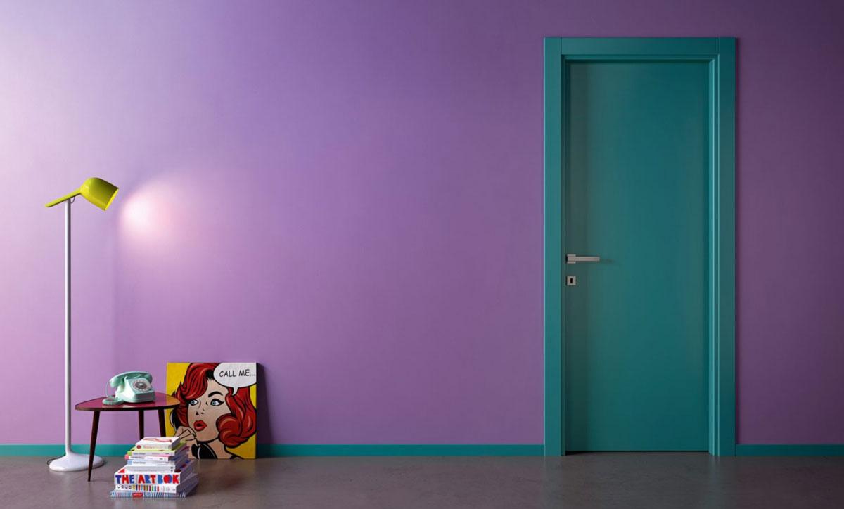 Porte Laccate Colorate